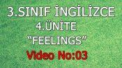 3. Sınıf İngilizce 4. Ünite Feelings Video No:3
